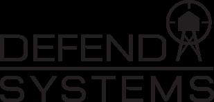 Defend Systems logo Vert BLK